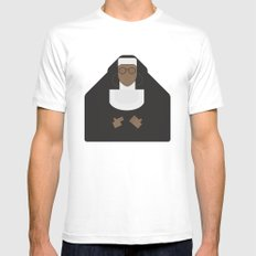 Sister Act - Movie Poster Minimalist Mens Fitted Tee White X-LARGE