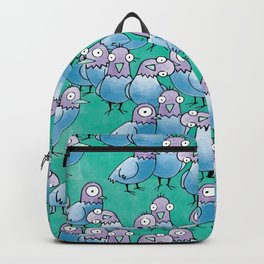 Pigeon Crowd Backpack