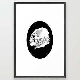Creature Cameo Framed Art Print