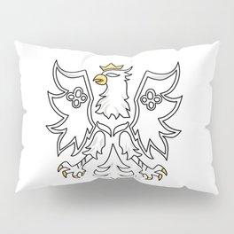 polska eagle Polish Present Warsaw Krakow Pillow Sham