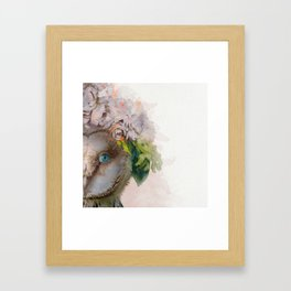 Animal Art - Owl Painting Framed Art Print