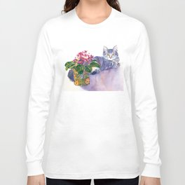 Table for Two Long Sleeve T-shirt