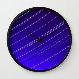 Jet aircraft in the sky Wall Clock