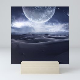 Sci-Fi landscape Mini Art Print