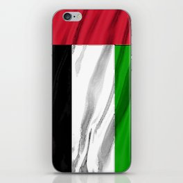 United Arab Emirates UAE Fancy Flag iPhone Skin