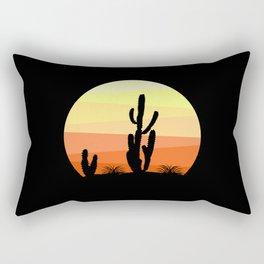 Mexican desert Rectangular Pillow