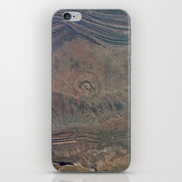 Impact Crater from Space by Planet Prints iPhone Skin