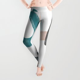 Abstract Graphic Illustrations | Elements Leggings