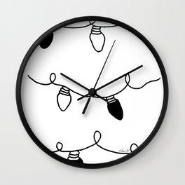 Twinkle Lights Wall Clock