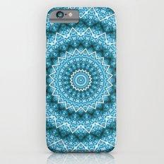 Light Blue Kaleidoscope Mandala