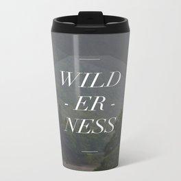 WILDERNESS — Metal Travel Mug