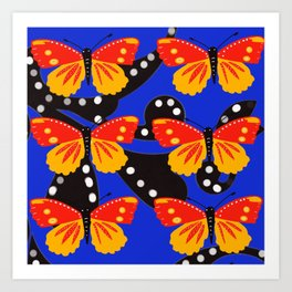 Butterfly delight Art Print