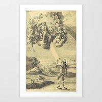 satan Art Prints featuring Satan by Chateau Partay