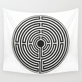 Maze 2 Wall Tapestry
