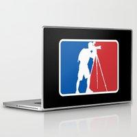 league Laptop & iPad Skins featuring Landscape League by Preston Lee Design