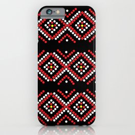Manobo Print II iPhone Case