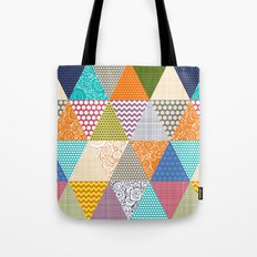 seaview beauty triangles Tote Bag