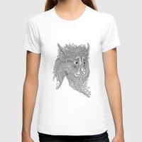 beast T-shirts featuring Beast by Olya Goloveshkina