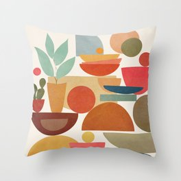 Modern Abstract Art 78 Throw Pillow