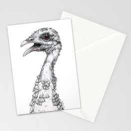 The Bald Turkey Stationery Cards