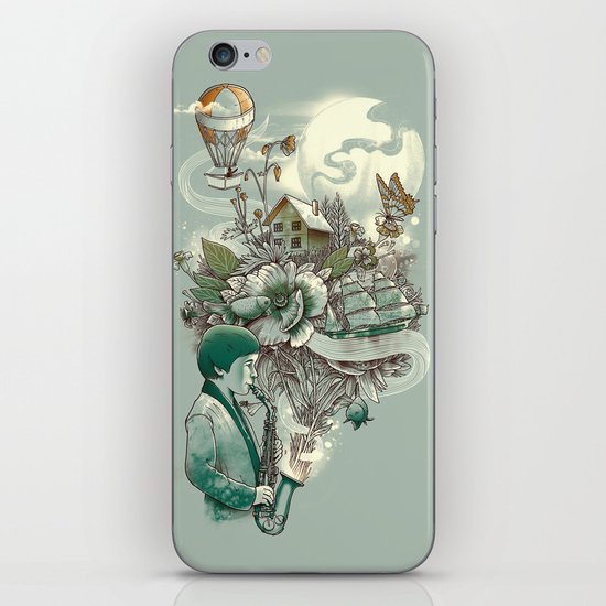 'In Tune with Nature' iPhone & iPod Skin