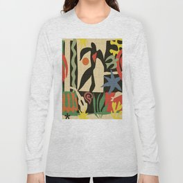 Inspired to Matisse (vintage) Long Sleeve T-shirt