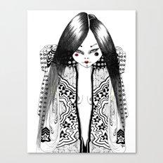 Ma petite japonaise Canvas Print