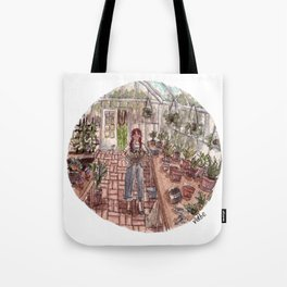 Glass Home Tote Bag