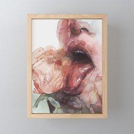 rose taste Framed Mini Art Print