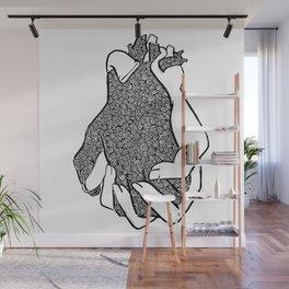 Entangled- Black Wall Mural