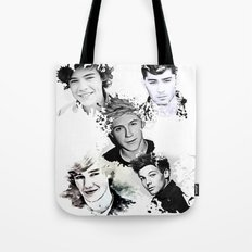 1D Splat Tote Bag