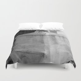 old memorial Duvet Cover