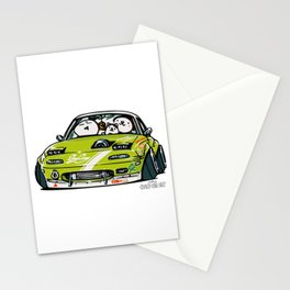 Crazy Car Art 0152 Stationery Cards