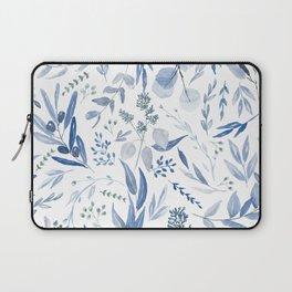 Eucalyptus Pattern - Blue Laptop Sleeve