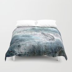 Fishing swordfish Duvet Cover