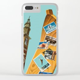 Vintage Vicenza Italy Travel Clear iPhone Case
