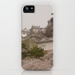 Himeji Hanami iPhone Case