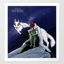 Princess Fen'harel Art Print