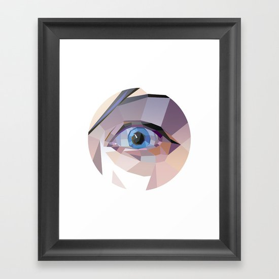 I. Framed Art Print