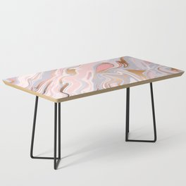 Marble and Gold 005 Coffee Table