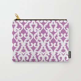 Modern Baroque Purple Carry-All Pouch