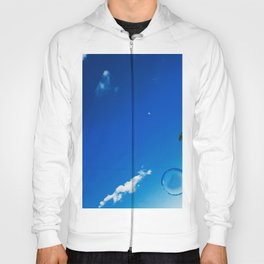 Soap Bubble and Moon Photography Hoody