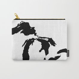 Map of the Great Lakes Carry-All Pouch