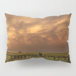 Afterglow - Clouds Glow After Storms at Sunset Pillow Sham