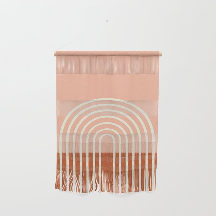 Terracota Pastel Wall Hanging