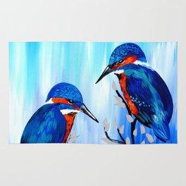 Kingfishers Rug