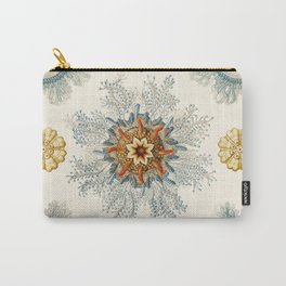 Coral mandala pattern Carry-All Pouch