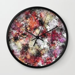 Thermal fractures Wall Clock