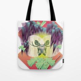 Neon Ritual Tote Bag