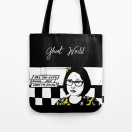 """""""Ghost World"""" Enid Tote Bag"""